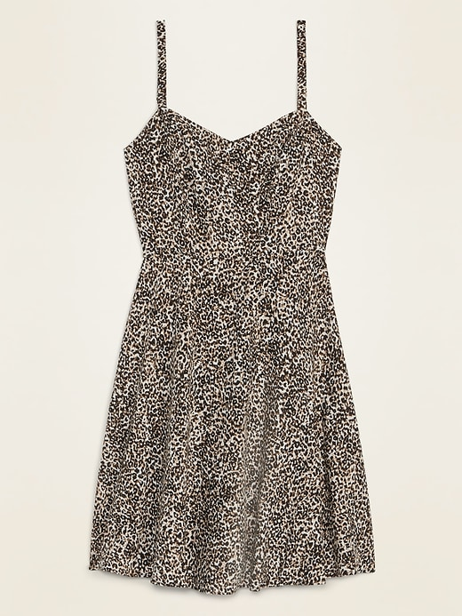 Printed Fit & Flare Cami Mini Dress for Women