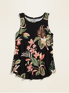 Luxe Printed Tank Top for Women