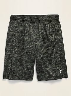 Printed Go-Dry Mesh Performance Shorts for Boys