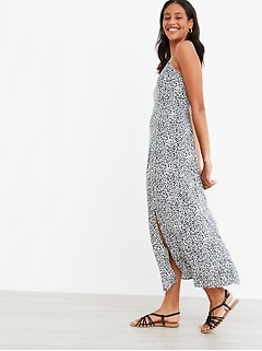 Fit & Flare Maxi Sundress for Women