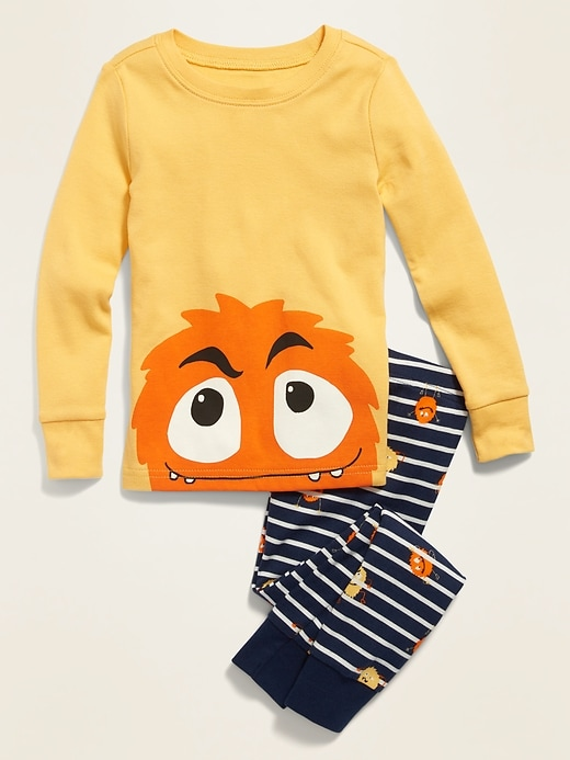 Monster Pajama Set for Toddler & Baby