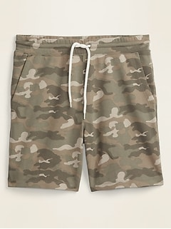 Camo Jogger Shorts for Men -- 7.5-inch inseam