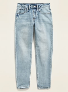 POPSUGAR x Old Navy High-Waisted O.G. Slim Straight Light-Wash Jeans