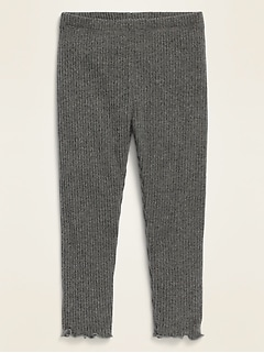 Rib-Knit Leggings for Toddler Girls