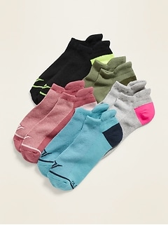 Athletic Ankle Socks 5-Pack for Women