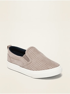 Unisex Canvas Slip-Ons for Toddler