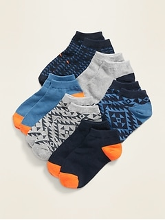 No-Show Socks 6-Pack for Boys