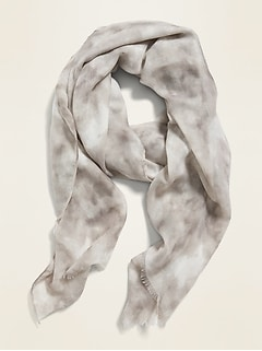 Lightweight Gauze Scarf for Women