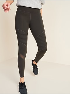High-Waisted Elevate Moto 7/8-Length Leggings for Women