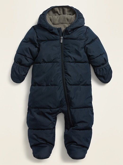 Unisex Water-Resistant Frost-Free Quilted Snowsuit for Baby