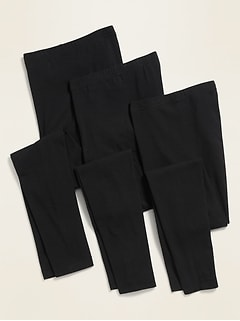 Mid-Rise Leggings 3-Pack for Women