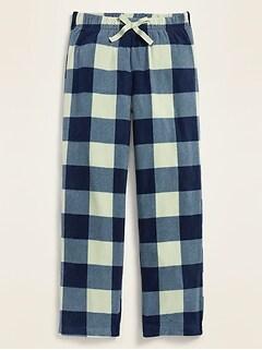 Printed Micro Performance Fleece Pajama Pants for Girls