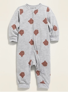Unisex Printed One-Piece for Baby