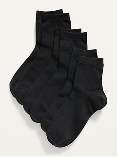 Quarter Crew Socks 3-Pack for Women