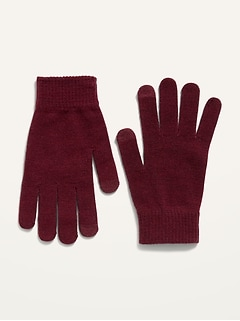 Cozy Sweater-Knit Text-Friendly Gloves for Women