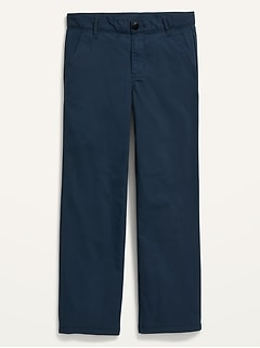 Straight Dry-Quick Built-In Flex Uniform Tech Pants for Boys