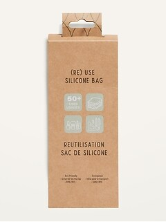 (Re) Use Reusable Silicone Bag