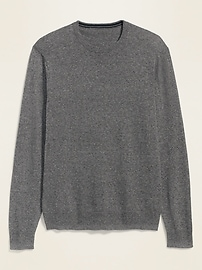 Marled Crew-Neck Sweater for Men