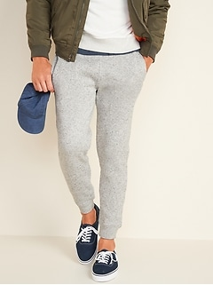 Sweater-Fleece Jogger Sweatpants for Men