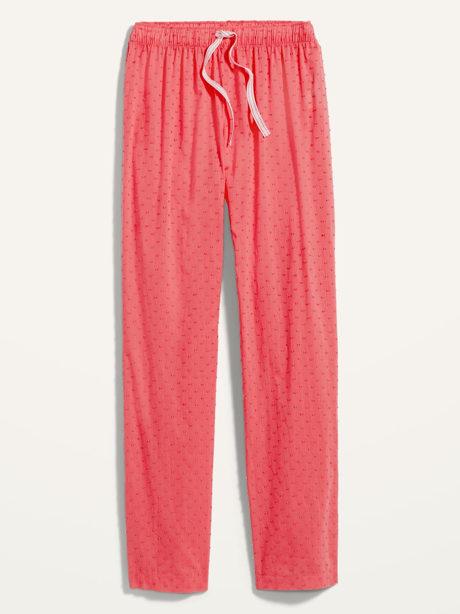 Old Navy Textured Swiss-Dot Pajama Pants for Women
