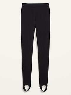 High-Waisted Stirrup Leggings for Women