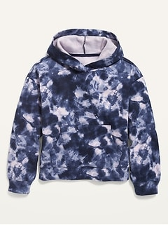 Tie-Dye Pullover Hoodie for Girls