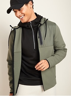 Go-H20 Water-Repellent Dynamic Fleece Zip Hoodie for Men