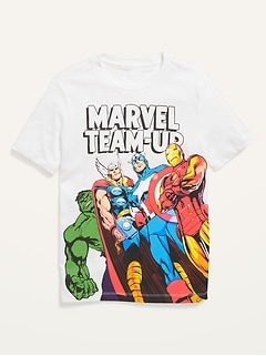 Marvel™ Character Graphic Gender-Neutral Tee for Kids