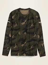 Ultra-Soft Breathe ON Camo Long-Sleeve Tee for Men