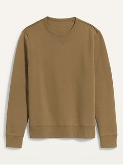 Soft-Washed Crew-Neck Gender-Neutral Sweatshirt for Men & Women