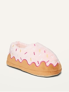 Gender-Neutral Cozy Donut Slippers for Kids