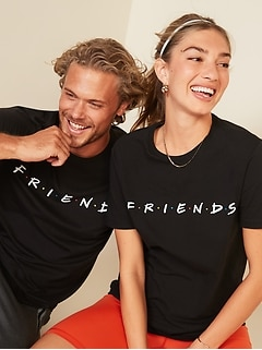 Friends™ Graphic Gender-Neutral Tee for Adults