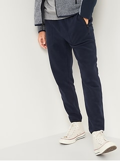 Go-Warm Micro Performance Fleece Tapered Sweatpants for Men