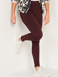 High-Waisted CozeCore Jogger Leggings for Women