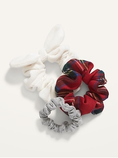 Multi-Scrunchie 3-Pack for Girls