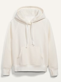 Cozy French Terry Pullover Hoodie for Women