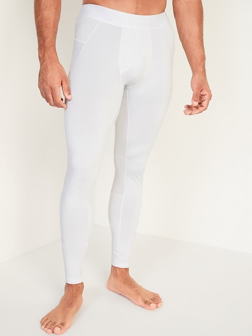 Go-Dry Cool Odor-Control Base Layer Tights for Men