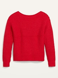 Slouchy Cozy Boat-Neck Sweater for Women