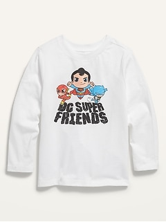 Unisex DC Comics™ Graphic Long-Sleeve Tee for Toddler