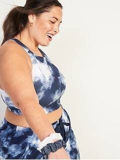 Light Support Powersoft Plus-Size Long-Line Sports Bra