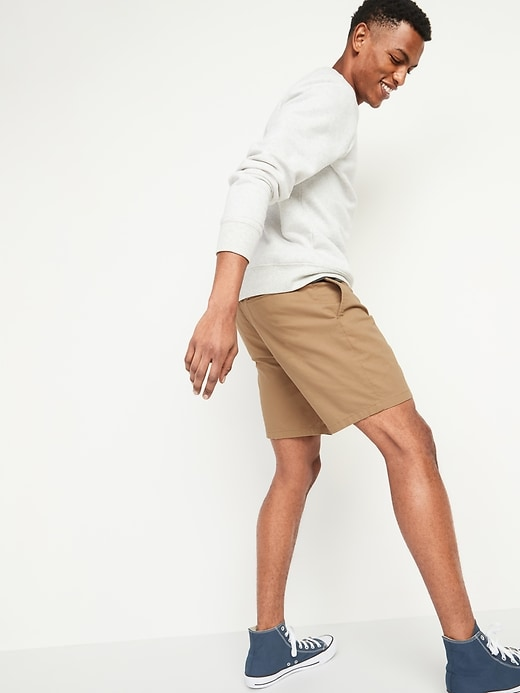 Slim Ultimate Chino Shorts for Men -- 8-inch inseam