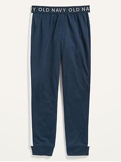 Side-Stripe Pajama Joggers for Boys