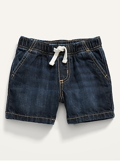 Pull-On Jean Shorts for Baby