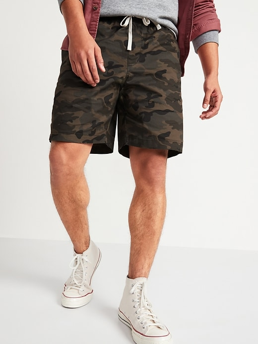 Old Navy Men's Camo Twill Jogger Shorts