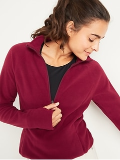 Go-Warm Micro Performance Fleece 1/4-Zip Sweatshirt for Women