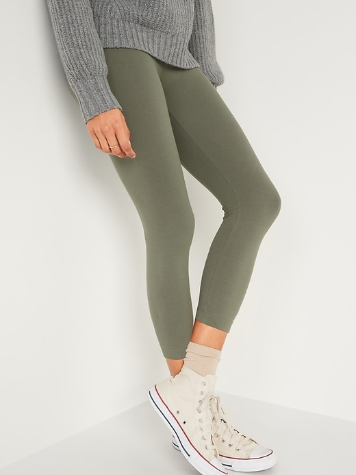 Old Navy: Women's Leggings $7.50 (50% off)