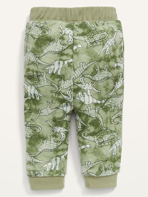 Dino-Print Logo-Graphic Pull-On Pants for Baby