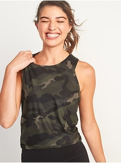 Breathe ON Tie-Back Performance Tank Top for Women