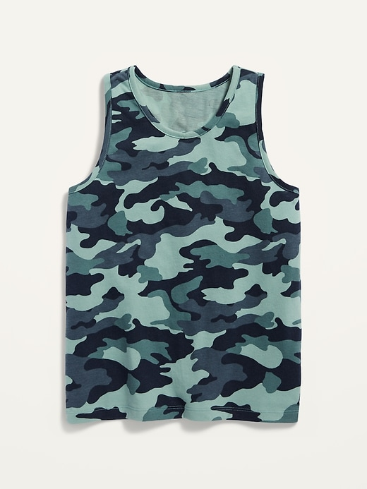 Softest Camo Tank Top for Boys