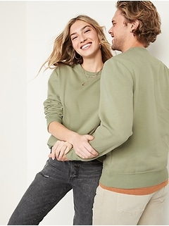Gender-Neutral Crew-Neck Sweatshirt for Adults